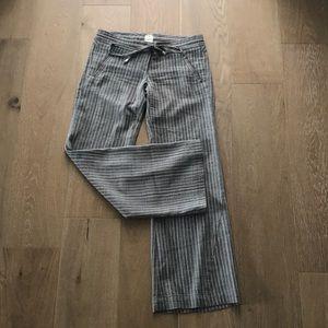Georgie Stripe Wide Leg Drawstring Pant